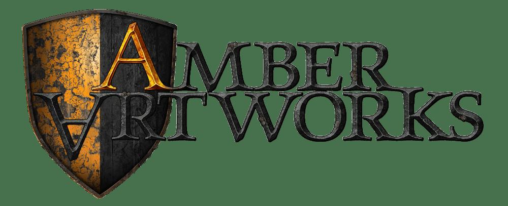 Das Bild zeigt das Logo von Amber Artworks Creative Film