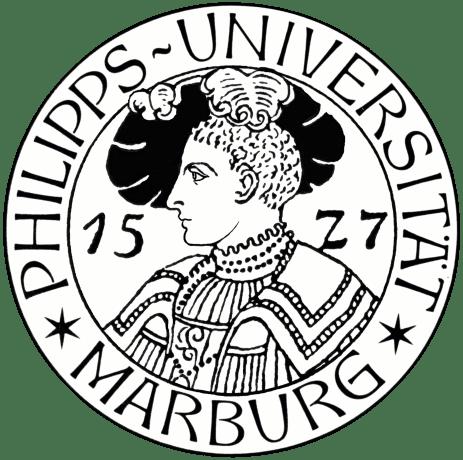 Das Bild zeigt das Logo der Philipps-Universität Marburg.