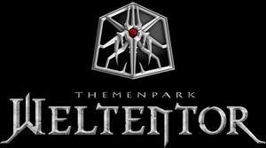 Das Bild zeigt das Logo des Themenpark Weltentor in Gera